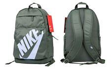 Nike Elemental Rucksack Backpack Unisex Sportswear Sport School Bag Gym Green