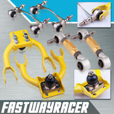 Civic Integra EG D16 DC2 Yellow Front Upper Arm Camber + Rear Camber Kit+Bushing