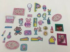 Barbie Skipper Cardboard Cutout Accessories Lot 33 Rocker Teen Vintage 80s
