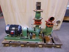 20 Hp Marathon Electric Motor With 600 Gpm Taco Pump 5 With 9 Impeller