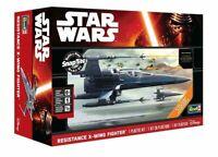 NEW 2015 Revell Snaptite Star Wars Resistance X Wing Fighter Model Kit 85-1632