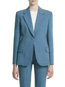 Theory Fitted Denim Blazer MSRP $495 Size 2, 8, 10, 14 # 5B 1680 New