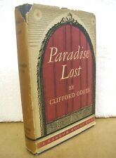 Paradise Lost by Clifford Odets 1936 HB/DJ First Edition