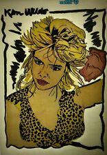 Kim Wilde 80s Memorabilia Vintage retro tshirt transfer print,NOS