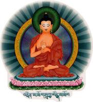 Teaching Buddha - Spiritual Window Sticker / Decal