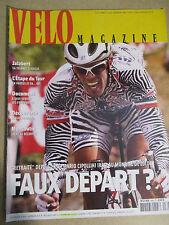 VELO MAGAZINE N°390 : SEPTEMBRE 2002 : LAURENT JALABERT - MARIO CIPOLLINI