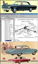 1965 CHRYSLER, Mopar, Complete Dealer PARTS MANUAL on CD!