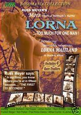 Russ Meyer's LORNA (DVD) Rare Cult Classic!
