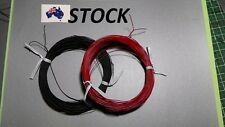 1 pack AWG30 PVC Coated Tin Plated Copper Wire (30 m black & 30 m red wire)