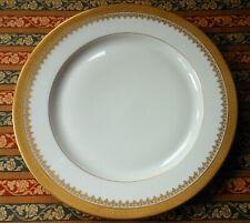 Vintage T&V Limoges Dinner Plate - Davis Collamore - Nyc - Gold Encrusted 10 3/8