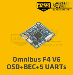 Airbot Omnibus F4 V6 Flight Controller 5 UARTs OSD BEC Drohne FPV Flugsteuerung