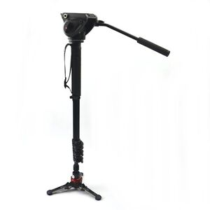 Manfrotto Video Einbeistativ 4 Seg MVH500AH Head And Fluid Foot XPRO Tripod