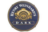 Henry Weinhard's Dark Beer Bar Plastic Sign Man Cave Garage Bar