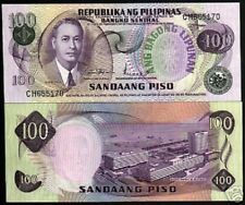 PHILIPPINES 100 PESOS P-164 A 1978 SHIP ROXAS BANK UNC CURRENCY MONEY BILL NOTE
