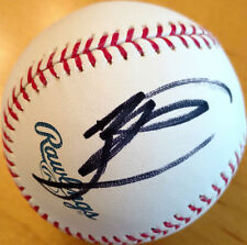 Michael Buble Signed OML Baseball Auto Music Musician Celebrity HOLO 2652