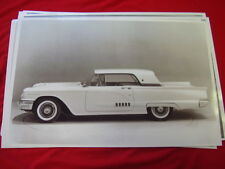 1958 FORD THUNDERBIRD HARDTOP  11 X 17  PHOTO /  PICTURE