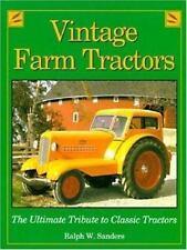 Vintage Farm Tractors-ExLibrary