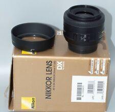 Nikon DX AF-S 35mm 1:1.8G (Minty Fresh!)