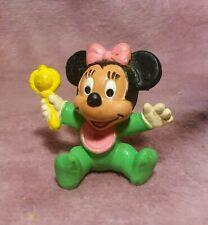 Disney Baby Minnie Mouse PVC Figure - 1985 Bully Germany