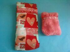 Girlz Bratz Kidz Kid Colorfull Sleeping Bag Matching Pillow Lot