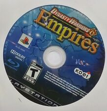 Dynasty Warriors 6: Empires (Sony PlayStation 3, 2009)(DISC ONLY) #7418