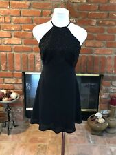 Designer LAUNDRY by Shelli Segal sz 6 Black Versatile Cocktail Party Mini Dress