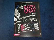ROBERT CRAY BAND SIGNED POSTER