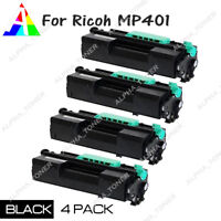 4PK Compatible 841886 Black Toner Cartridge For Ricoh MP401SPF MP402SPF SP4520DN