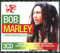 BOB MARLEY - L'ICONE INTEMPORELLE DU REGGAE - BEST OF 3 CD ALBUM NEUF SOUS CELLO