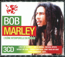 BOB MARLEY - L'ICONE INTEMPORELLE DU REGGAE - BEST OF 3 CD ALBUM NEUF SOUS CELLO
