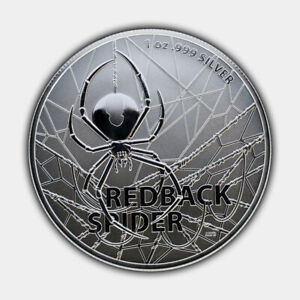 "Australia`s Most Dangerous "" Red Back Spider"" 1 oz in Kapsel 2019 * 1.Ausg. Top"