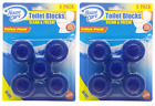 House Care Blue Toilet Bowl Blocks Clean & Fresh, 5 Ct. (Pack of 2)