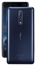 Nokia 8 - 64 GB - Tempered Blue (Unlocked) Smartphone