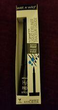 WET N WILD H2O PROOF LIQUID EYELINER WATERPROOF 879 BLACK (NEW)