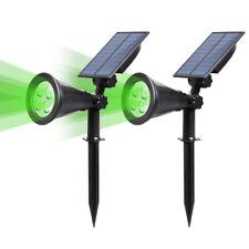 T-SUN Solar Spotlight LED Outdoor Wall Light, IP65 Waterproof, Auto-on at
