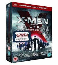 X Men and Wolverine All Films Blu Ray Collection 8 Discs Box Set Extra Region 2
