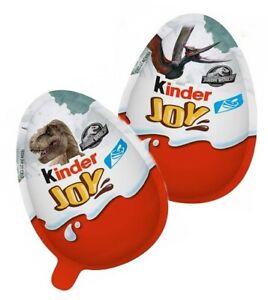 15 x Kinder Joy Surprise JURASSIC WORLD EDITION (Pack of 15 Eggs) Full Date