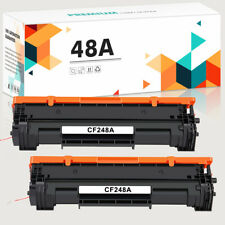 2PK Black CF248A Toner Compatible 48A For HP LaserJet Pro M15 M16 M28 M29W MFP