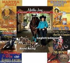 Martha Josey's Barrel Racing Complete Set - 4 DVD & Book - Brand New