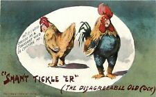 Shan't Tickle 'Er Serie~Fat Lady Hen~If I Were Dressed as Pheasant~Rooster Grump