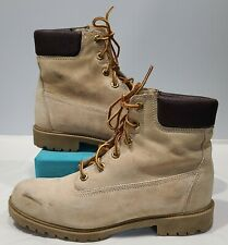"""New listing Wolverine Gold Waterproof Insulated 8"""" Soft Toe Work Boot Men Sz 8.5 Usa W01195"""