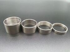 4pcs Titanium Alloy Bicycle Headset Stem Spacers Washer Kit 28.6*5/10/15/20mm