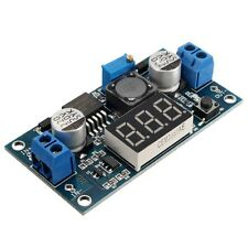 DC-DC 3-34V to 4-35V LM2577   Supply Step-up Module LED Voltmeter