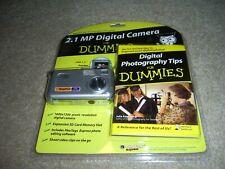 Sakar 79390-Tru Vivitar 2.1Mp Digital Still Camera, NEW, with flash