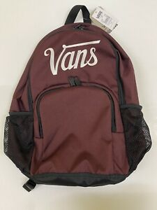 Vans Alumni Pack 3-B Unisex Burgundy Backpack