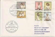 Luxembourg 1962 First Day cancellation on semi-postal complete set (E97)