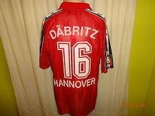 Hannover 96 Original Aufstieg Matchworn Trikot 2001/02  + Nr.16 Däbritz Gr.L