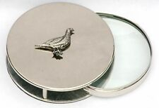 Red Grouse Magnifying Reading Glass Desktop Office Game Shooting Gift