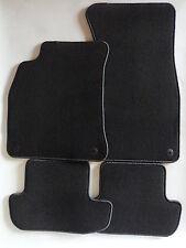 Autoteppiche Fußmatten für Audi A5 8T S5 Cabrio S-Line RS5 Velours schwarz