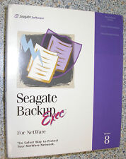 VERITAS SEAGATE BACKUP SOFTWARE EXEC V8.0 NETWARE MULTI- SERVER EDITION DEUTSCH